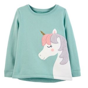 Carter's unicorn sweatshirt